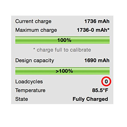 how to see how many battery cycles iphone