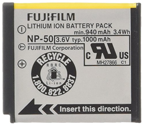 (Fujifilm NP-50 Lithium Ion Rechargeable Battery for Fuji F60fd, F50fd & F100fd Digital Cameras - Retail)