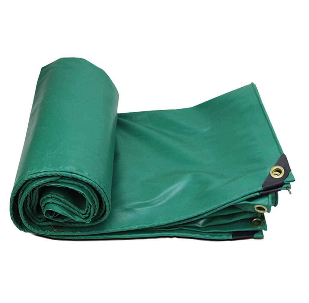 SZ JIAOJIAO étanche Tissu PVC BÂche De Prougeection Couverture De La Remorque De L'extérieur De La BÂche De Construction Extérieure Tissu Enduit 450G M2,5X5m  5x5m