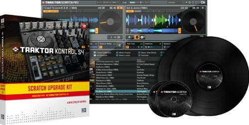 - Native Instruments Traktor Kontrol S4 Scratch UPG Kit