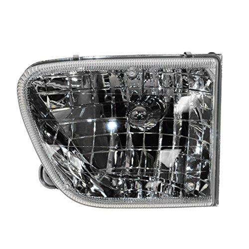 Headlight Headlamp Driver Side Left LH for 98-01 Mercury (Mercury Mountaineer Headlight Lh Driver)