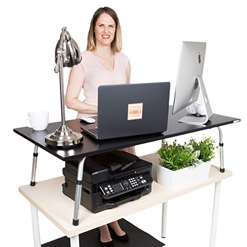 Fancierstudio Riser Desk Standing Desk Extra Wide