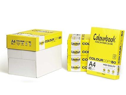 Papel A4 para impresoras 80 gramos 5 resmas de 500 hojas ...