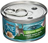 Cheap Purina ONE Smart Blend Classic Turkey Premium Pate Canned Cat Food