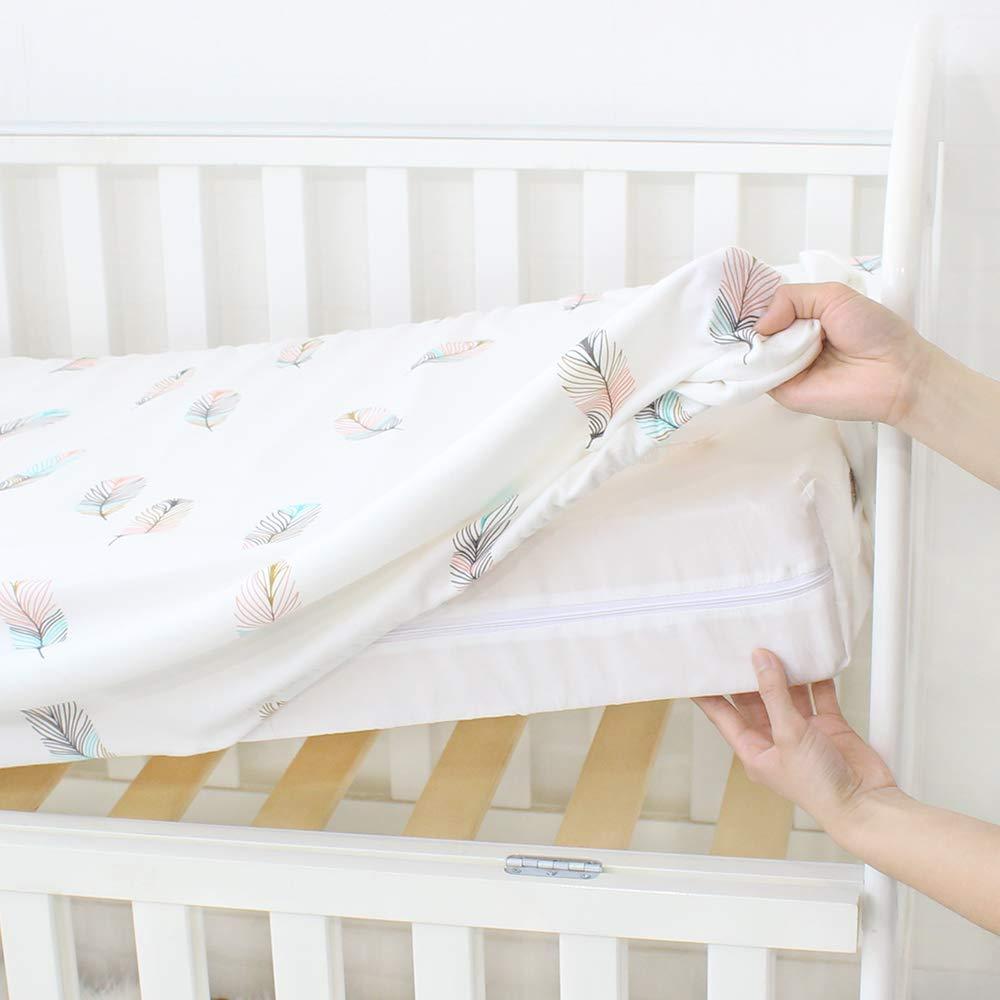 Amazon.com: PREMIUM algodón cuna Sábana Bajera Ajustable ...