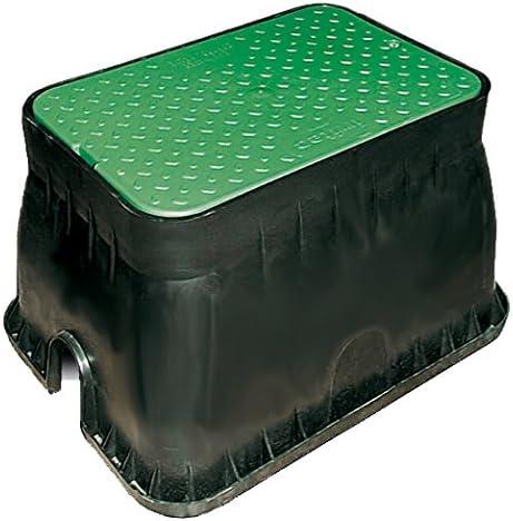 Aqua Control Arqueta 31 cm, Verde Negro, Rectangular (51 x 36 x 31 cm), C1904: Amazon.es: Jardín