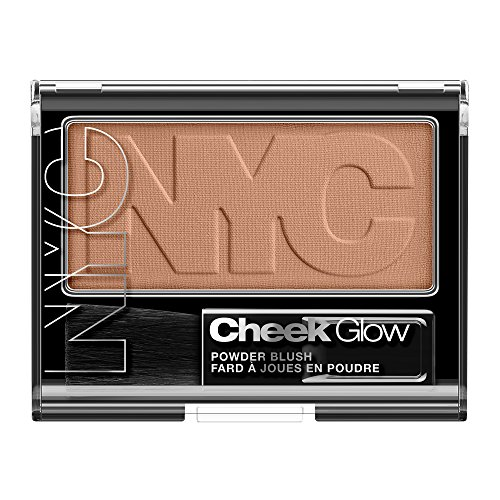 N.Y.C. New York Color Cheek Glow Blush, Riverside Rose, 0.28 (Cheek Colour Rose)