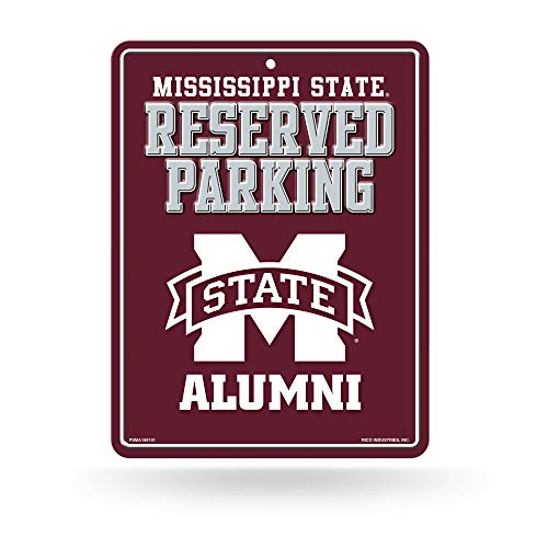 - Rico Industries NCAA Mississippi State Bulldogs Metal Parking Sign