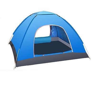 2 secondes pour ouvrir la tente Tente extérieure 3-4 personnes Tente de camping automatique imperméable et protection contre la pluie