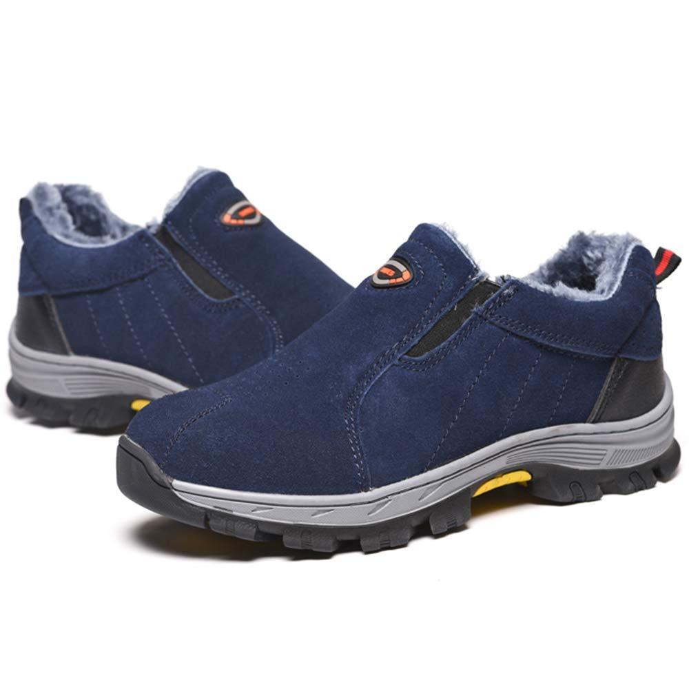 Zapatos de Seguridad Mujer Hombre Zapatos de Trabajo Puntera de Acero Antideslizante Zapatos Oto/ño Invierno C/álido Zapatos de Senderismo Unisex Trekking C/ámping