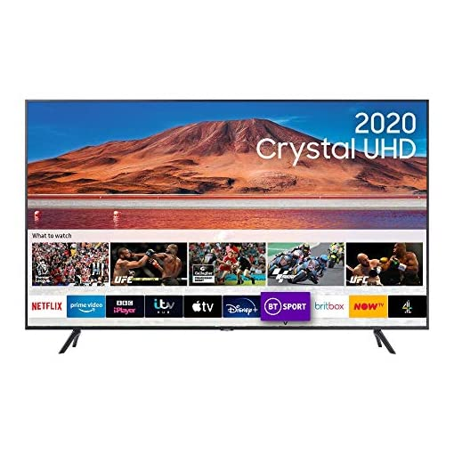 Samsung 55″ TU7100 HDR Smart 4K TV with Tizen OS