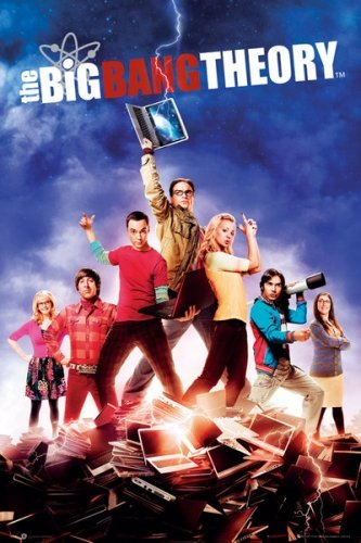The Big Bang Theory - TV Show Poster Season 5 - The Gang By