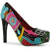 Ladies Iron Fist Platform Heels Shoes