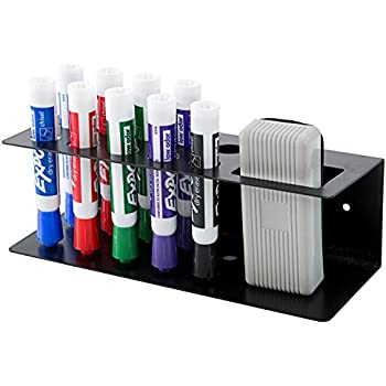 Amazon.com : 10-Slot Wall Mounted Metal Dry Erase Marker