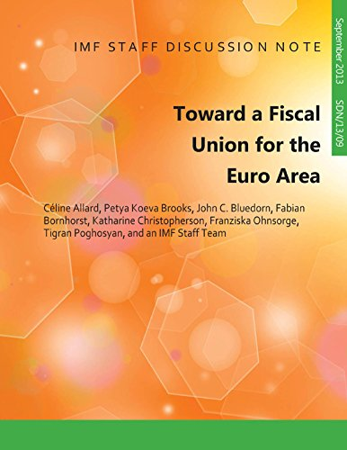 Toward A Fiscal Union for Euro Area