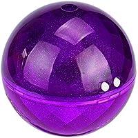 VIASA 160 ml Ultrasonic Cool Mist Humidifier - quiet Funcationality,Room Vaporizer, and LED Night Light,Ball Design (Purple)