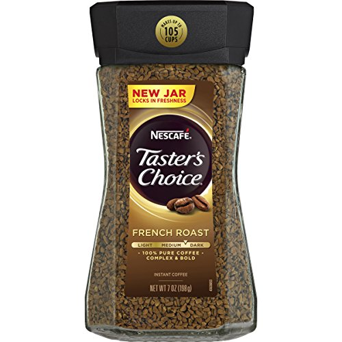 Nescafe Taster's Choice Instant Coffee, French Roast, 7 Ounce