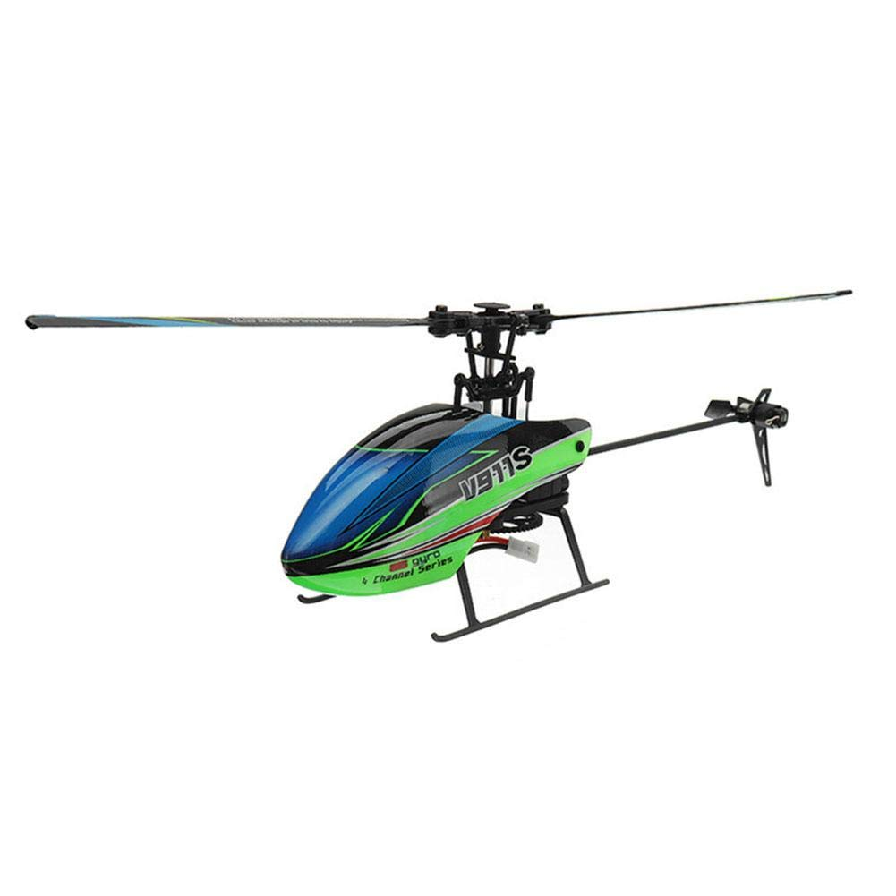 Waroomss Kinderhubschrauber Helikopter Spielzeug, V911S 2.4G 4CH RC Hubschrauber Flugzeug Vier Wege Single Propeller Ohne Querruder Flugzeuge 6-Achsen Gyroskop B07K35BV8B Helikopter Zuverlässige Leistung | Schenken Sie Ihrem Kind eine glückliche Kindheit