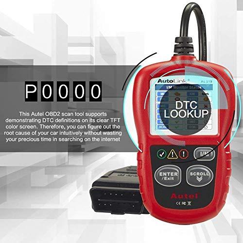 Tools & Equipment Autel Autolink AL319 OBD2 Scanner Reader Read and