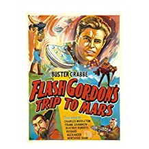 11 x 14 Tin Sign Flash Gordon Trip To Mars