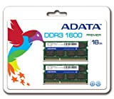 ADATA Premier Pro DDR3 1600MHz 16GB(8 x 2) Memory Modules (AD3S1600W8G11-2)