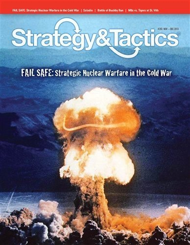 DG  Strategy & Tactics Magazine, Issue   283, with Fail Safe, Strategic Nuclear Warfare in the Cold War, Board Game by DG Decison Games