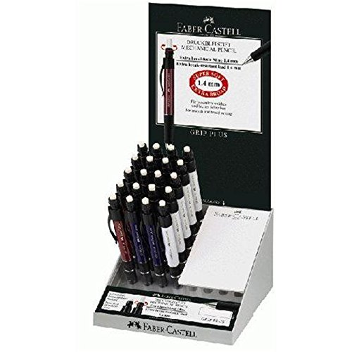 Faber-Castell 131430Mechanical Pencil, Mechanical Pencils 20pièce (S) (Blue, Red, White)