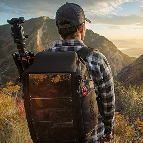 Voltaic Systems - Array USB Solar Backpack with Backup Battery Pack - Charcoal | Powers Laptops, Phones, & More | Solar Charge your Laptop Anywhere by Voltaic Systems (Image #4)