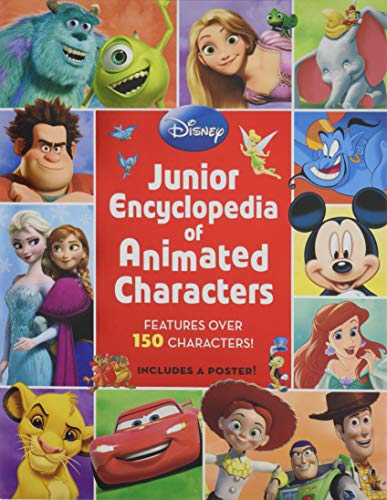 Junior Encyclopedia of Animated Characters (The Best Disney Characters)