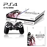 Ci-Yu-Online VINYL SKIN [PS4] Assassin's Creed #2 Whole Body VINYL SKIN STICKER DECAL COVER for PS4 Playstation 4 System Console and Controllers