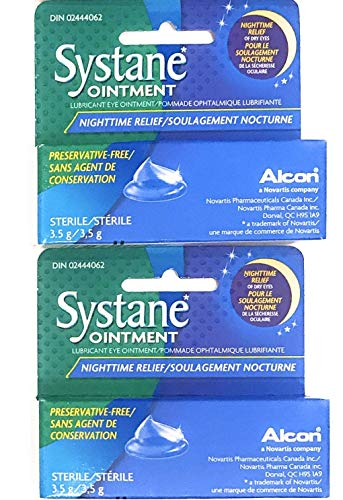 Systane Lubricant Eye Ointment 3.5 g (2 Pack)