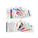 Complete Vertical Badge Card Reference Set Pocket ID Guide Graduation Gift Set