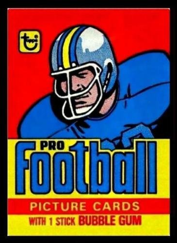 1978 Topps Football Sealed Wax Pack 14 cards Chance for Dorsett (Topps Football Wax)