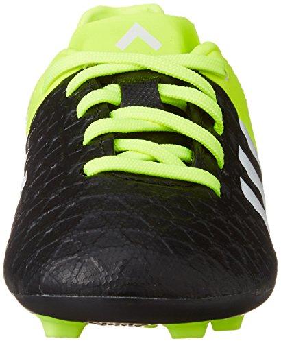 adidas ACE 15.4 FXG J - Botas para niño Negro / Lima / Blanco