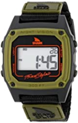 Freestyle Men's 103327 Shark Classic Clip Digital Display Japanese Quartz Black Watch