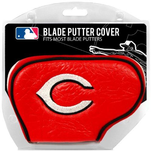 Team Golf MLB Cincinnati Reds Golf Club Blade Putter Headcover, Fits Most Blade Putters, Scotty Cameron, Taylormade, Odyssey, Titleist, Ping, Callaway
