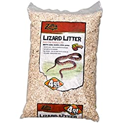 Zilla Snake and Lizard Litter, Aspen, 4 qt.