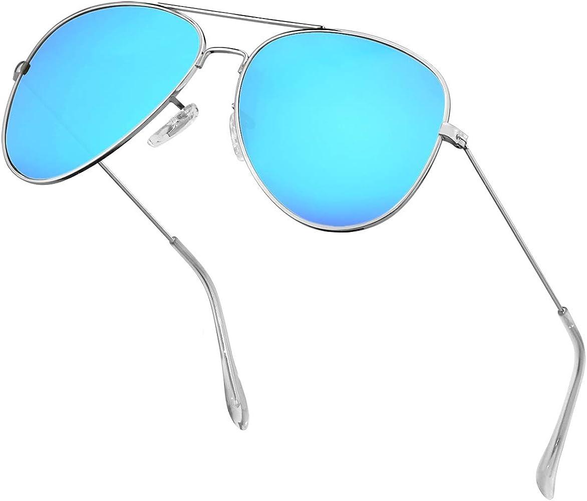 362fb878c Polarized Aviator Sunglasses for Men Metal Mens Sunglasses Driving Unisex  Classic Sun Glasses for Men/