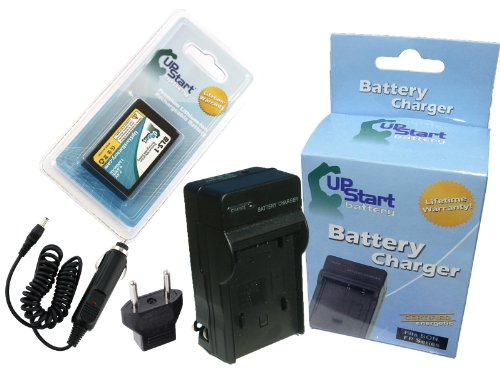 Olympus E-620 Battery and Charger with Car Plug and EU Adapter - Replacement for Olympus BLS-1 Digital Camera Batteries and Chargers (1150mAh, 7.4V, Lithium-Ion) ()