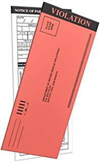 Amazon fake parking tickets pad of 25 by bwacky toys games 100 pack fake parking tickets with multiple selections in the back to fill in altavistaventures Images