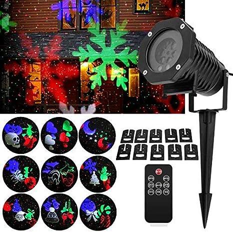 Proyector LED Exterior y Interior 2 en 1 fochea IP55 Proyector de ...