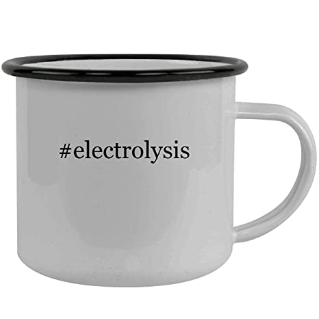 Amazon com | #electrolysis - Stainless Steel Hashtag 12oz Camping