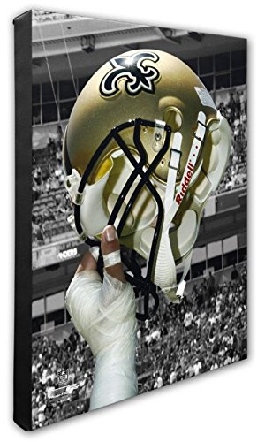 """- NFL New Orleans Saints Beautiful Gallery Quality, High Resolution Canvas, 16"""" x 20"""""""