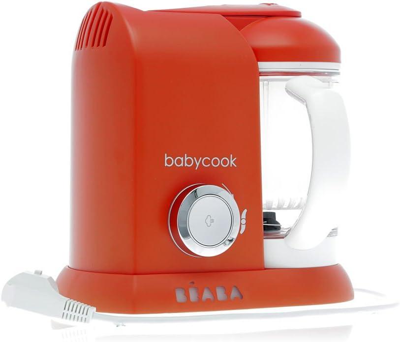 Béaba Mixeur-Cuiseur Babycook Solo, color naranja: Amazon.es: Deportes y aire libre