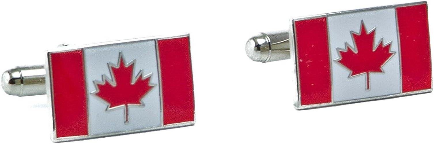 Canada Flag Cufflinks