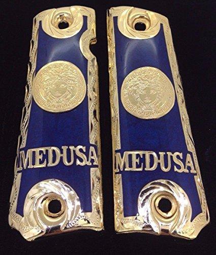 (Blanca's Jewelry 1911 Government Commander Gun Grips Medusa Cacha)