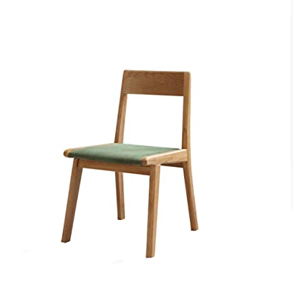 Amazon.com: XINGPING Japanese Style Solid Wood Chair Simple ...