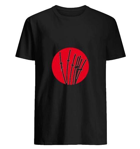 Amazon.com: Siete Samurai Ronin camiseta, guerrero japonés ...
