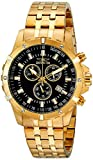 Invicta Men's 17505 Specialty Analog Display Swiss Quartz Gold Watch