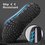 GRITION Chaussures de Randonnée Homme imperméables Chaussures de Trail,Bottes de Marche Moto Homme d'hiver de randonnée… 11